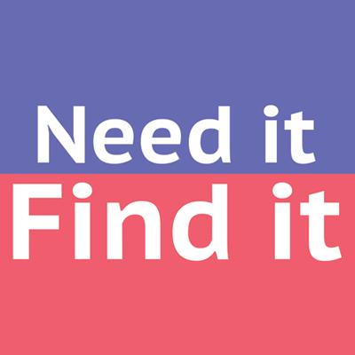 Need it Find it
